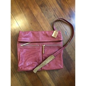 COACH Messenger/Laptop Shoulder Crossbody Bag